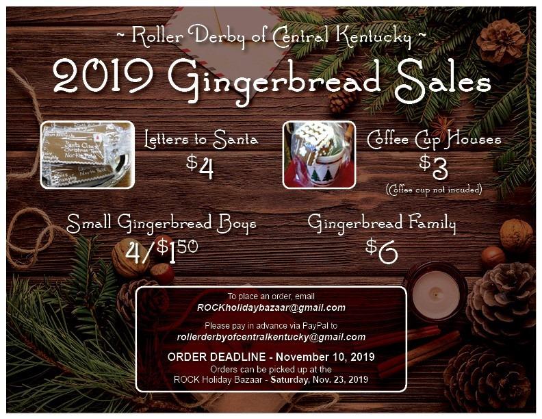 2019 gingerbread